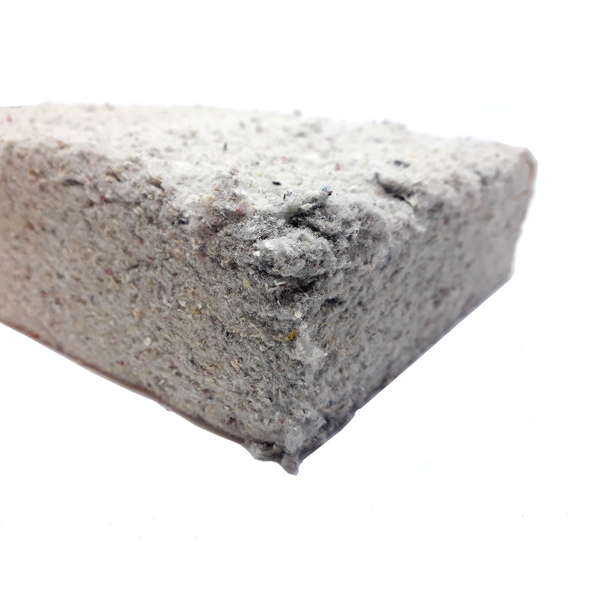 Foto de plancha de aislante de celulosa