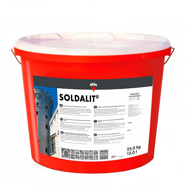 pintura de sol silicato para exterior-pintura de sol silicato para fachadas Keim soldalit